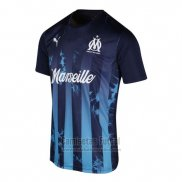 Tailandia Camiseta Olympique Marsella Influence 2019 Azul
