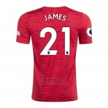 Camiseta Manchester United Jugador James Primera 2020-2021