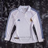Camiseta Real Madrid Primera Manga Larga Retro 2001-2002