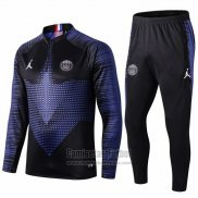 Chandal del Paris Saint-Germain 2019-2020 Azul