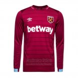Camiseta West Ham Primera Manga Larga 2018-2019