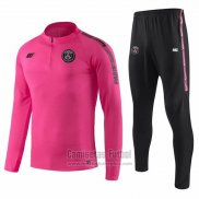 Chandal del Paris Saint-Germain Nino 2019-2020 Rosa