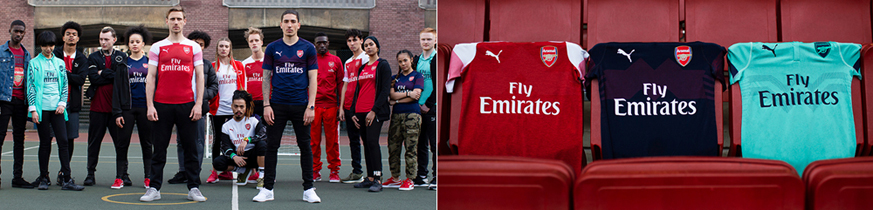 camiseta Arsenal replica barata