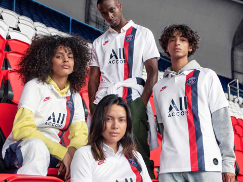 Camiseta de futbol Paris Saint-Germain replica 2019-2020